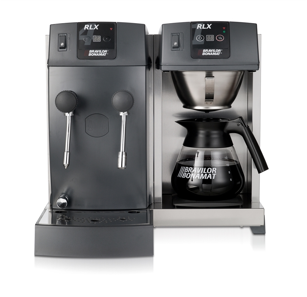 RLX 41  RLXwith glass decanters  Tabletop machines  -> Kaffeemaschine Quick