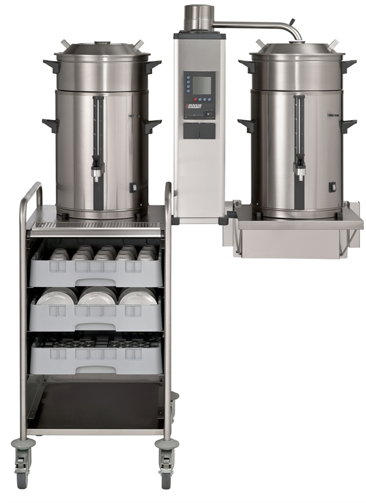 B5 W B Series Wall Round Filter Machines Bravilor
