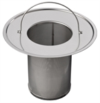 tea filter for container (front view)