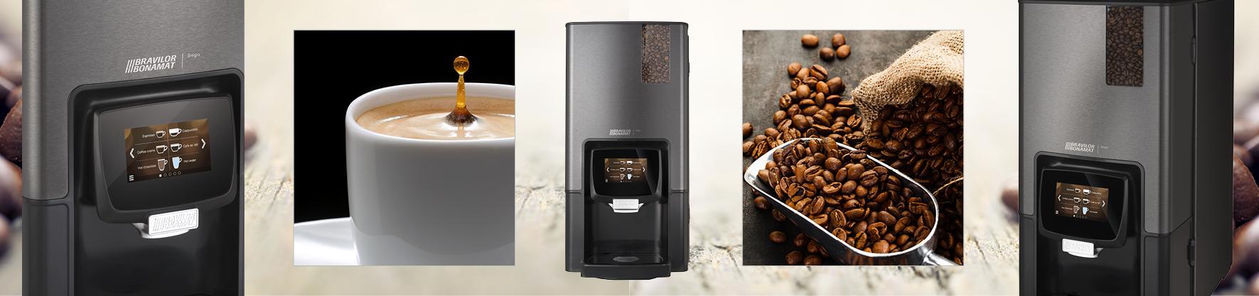 Bravilor Bonamat launches the Sego compact espresso machine